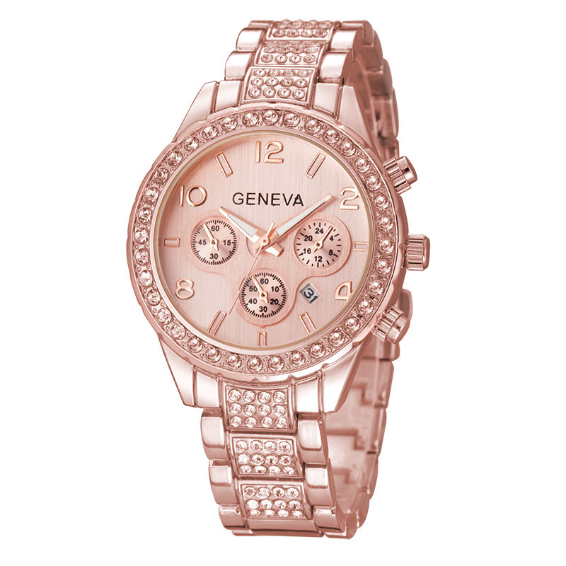 Geneva Rose Gold karóra